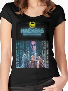Hackers Women's Fitted Scoop T-Shirt