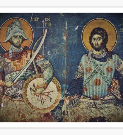 Saint Mercurius and Artemius  Sticker