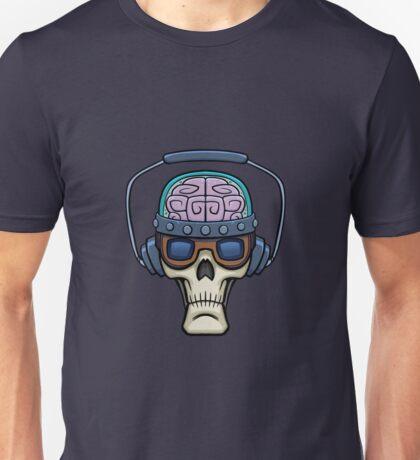 Freaky Science Skull Unisex T-Shirt