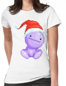 Santa Nohohon for Christmas Womens Fitted T-Shirt