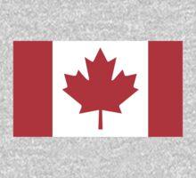 Canada Flag One Piece - Long Sleeve