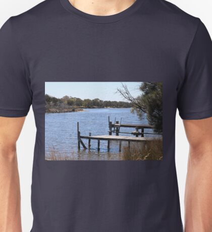 Wooden Jetty on the Serpentine Unisex T-Shirt
