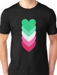 Abrosexuality in Shapes Unisex T-Shirt
