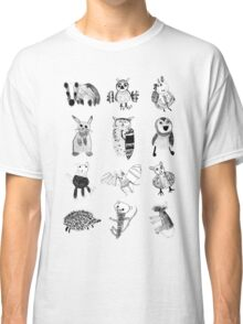 Woodland Animals Classic T-Shirt
