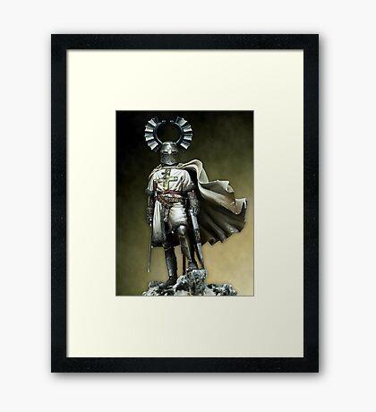 Teutonic Knight Framed Print