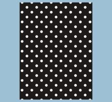 Polkadots Black and White Kids Clothes