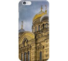 Church of the Assumption of the Blessed Virgin Mary - St. Petersburg iPhone Case/Skin