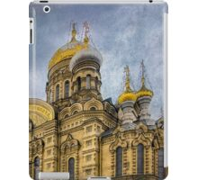 Church of the Assumption of the Blessed Virgin Mary - St. Petersburg iPad Case/Skin