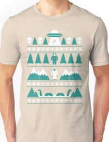 Paranormal Christmas Sweater Unisex T-Shirt