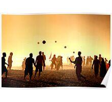 Ipanema beach - Balls Poster