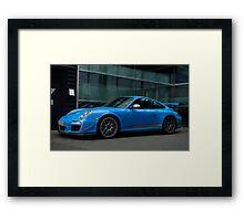Porsche GT3 RS 4.0 in Stuttgart  Framed Print