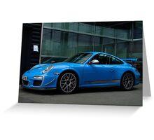 Porsche GT3 RS 4.0 in Stuttgart  Greeting Card