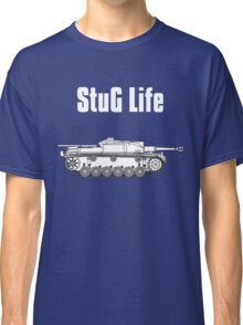 StuG Life - Military History Visualized (Vertical Version) Classic T-Shirt