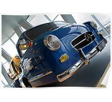 300SLR Rennwagen Shnelltransporter  Poster