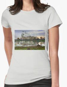 Nostalgic autumn  Womens Fitted T-Shirt