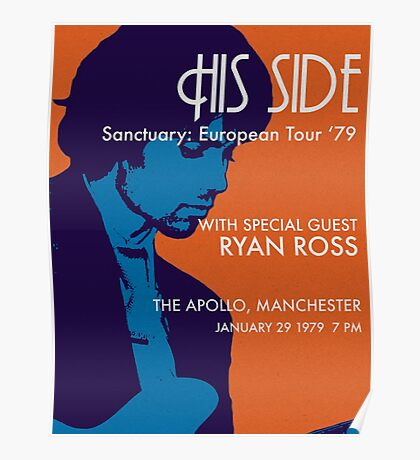 His Side Concert Poster Poster