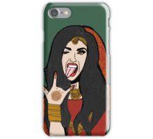 Rock on bride  iPhone Case/Skin