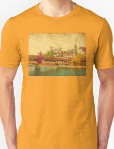 Spreuerbruecke in Lucerne T-Shirt