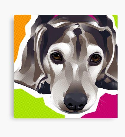 DIXIE - Beagle Canvas Print