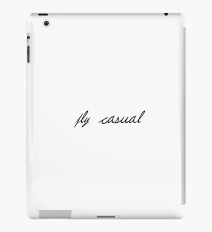 Fly Casual iPad Case/Skin