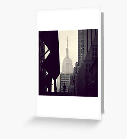 View of the Empire State Building Greeting Card