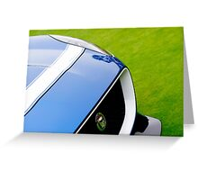 Jaguar Project-7 Greeting Card