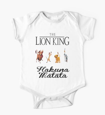 Lion King One Piece - Short Sleeve