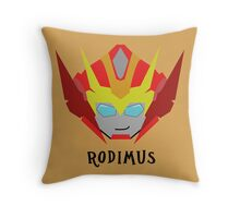 Till All - Rodimus (Hot Rod) Throw Pillow