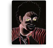 Michael Jackson Thriller Halloween Drawing Canvas Print