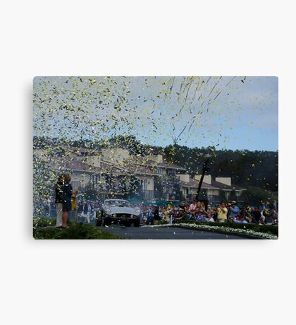 Best Of Show 2014 Pebble Beach Concours d' Elegance Canvas Print