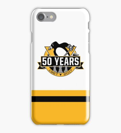 Penguins 50th Anniversary iPhone Case/Skin