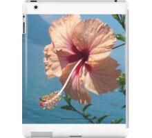 Pink Individual Flower iPad Case/Skin