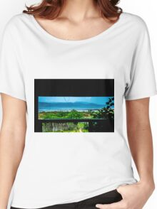Lunch With A View Women's Relaxed Fit T-Shirt