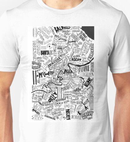 Brisbane Suburbs Unisex T-Shirt
