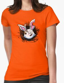 FluffyButt With a Bullet Womens Fitted T-Shirt