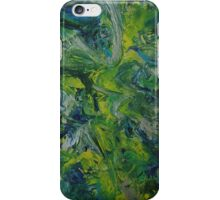 """Paradise Abducted"" original artwork by Laura Tozer iPhone Case/Skin"