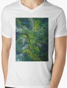 """Paradise Abducted"" original artwork by Laura Tozer Mens V-Neck T-Shirt"
