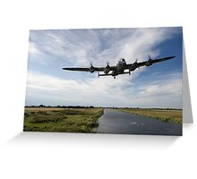 617 Squadron Dambusters training sortie Greeting Card