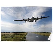 617 Squadron Dambusters training sortie Poster