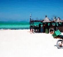 Beach Bar by Robin Webb