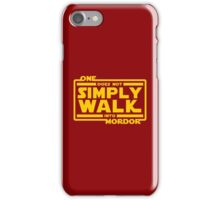 One Does Not Simply Walk iPhone Case/Skin
