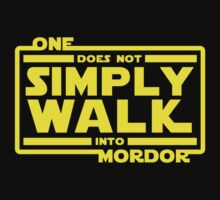 One Does Not Simply Walk Baby Tee