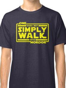 One Does Not Simply Walk Classic T-Shirt
