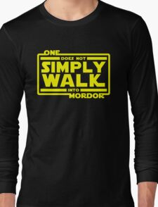 One Does Not Simply Walk Long Sleeve T-Shirt