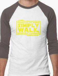 One Does Not Simply Walk Men's Baseball ¾ T-Shirt