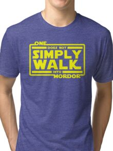 One Does Not Simply Walk Tri-blend T-Shirt