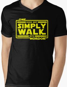 One Does Not Simply Walk Mens V-Neck T-Shirt