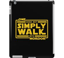 One Does Not Simply Walk iPad Case/Skin