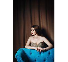 Luxury Woman Portrait Photographic Print