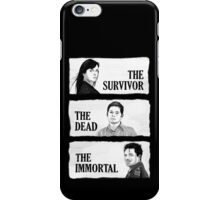 Torchwood - The Survivor, The Dead, The Immortal iPhone Case/Skin
